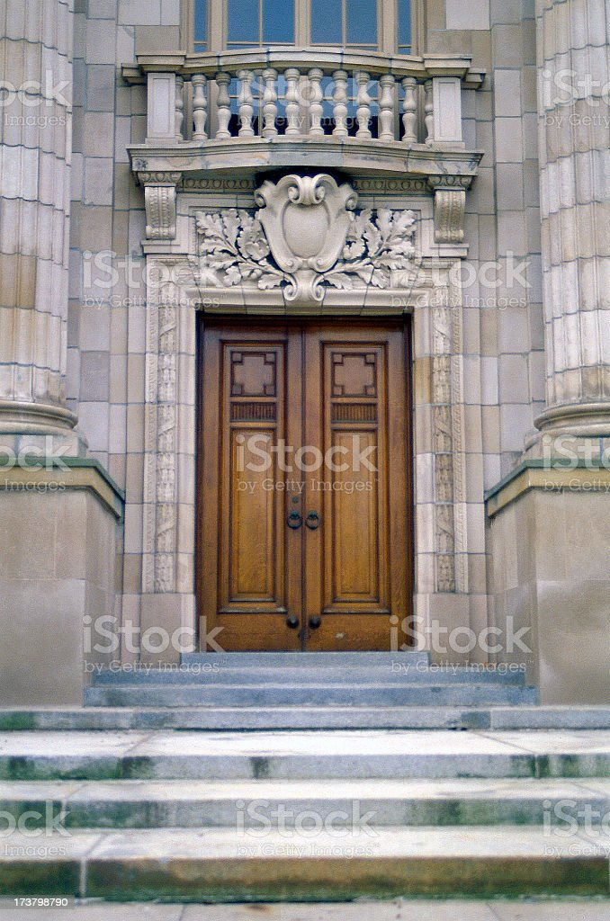 Classic Grand Entrance royalty-free stock photo