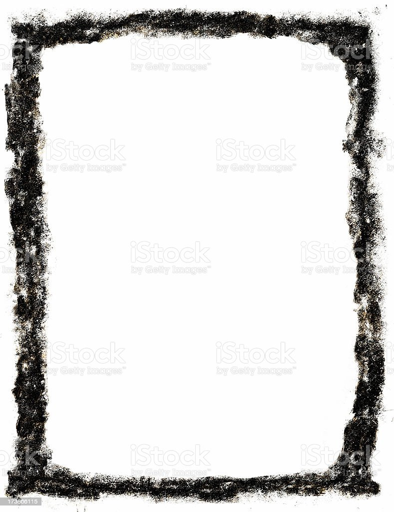 classic grunge frame royalty-free stock photo