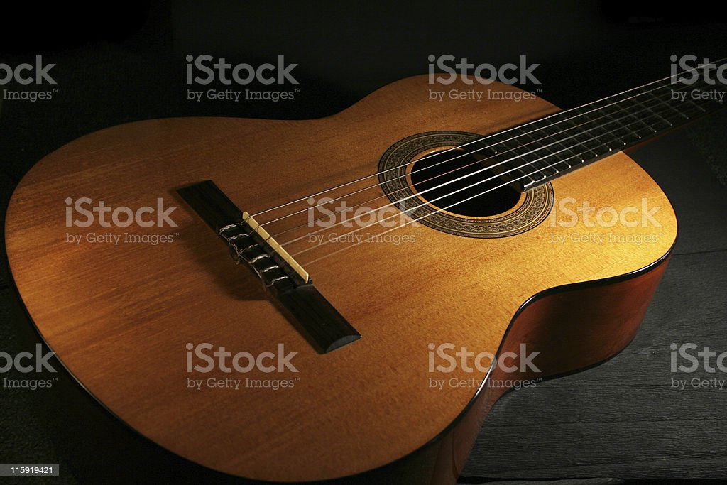 Classic guitar royalty-free stock photo