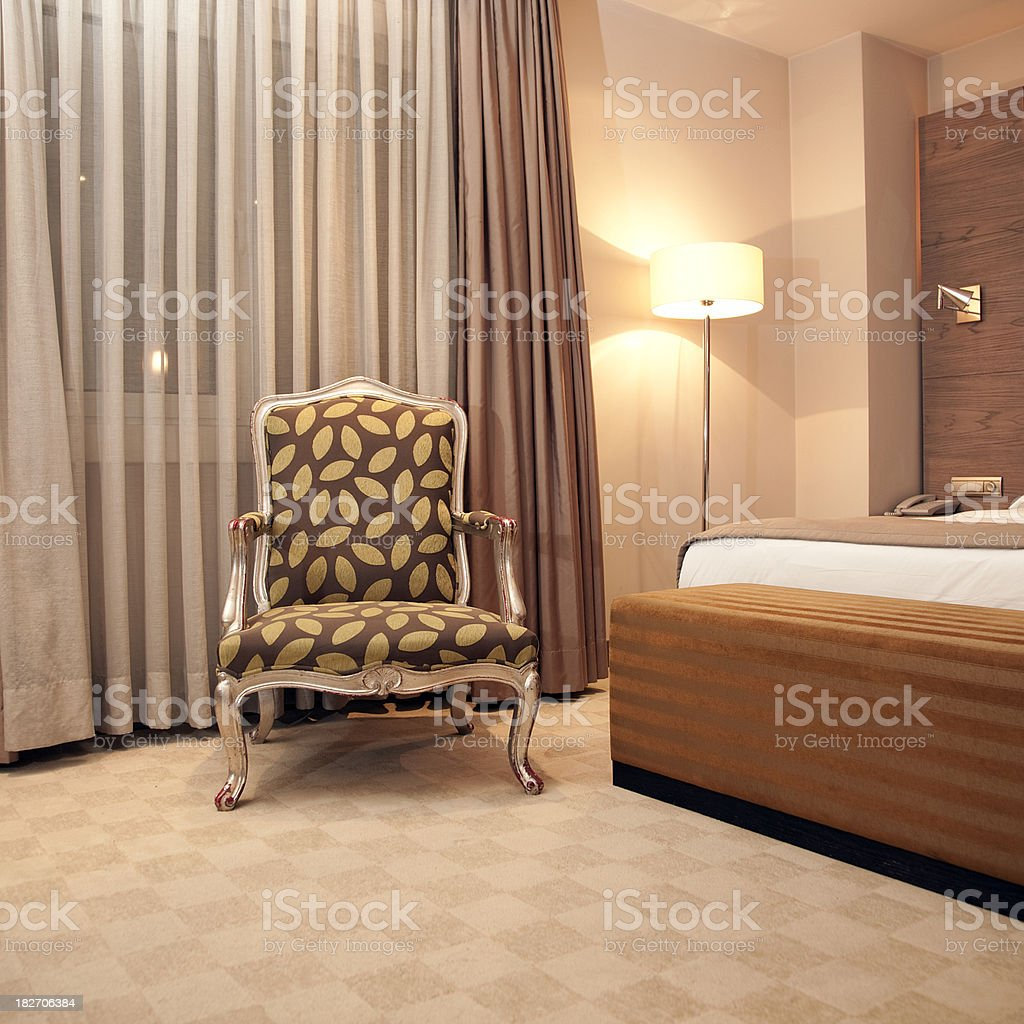 classic Hotel Room royalty-free stock photo