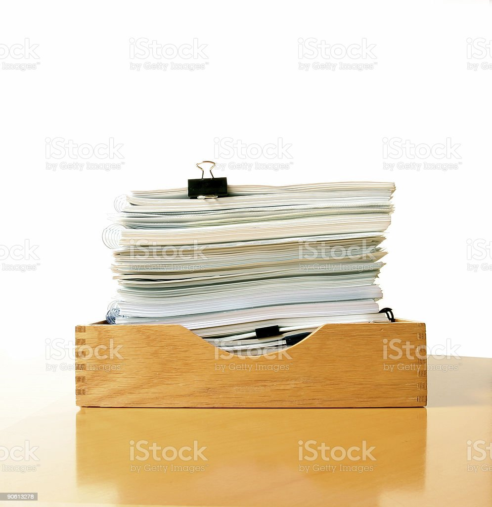 Classic Inbox stock photo