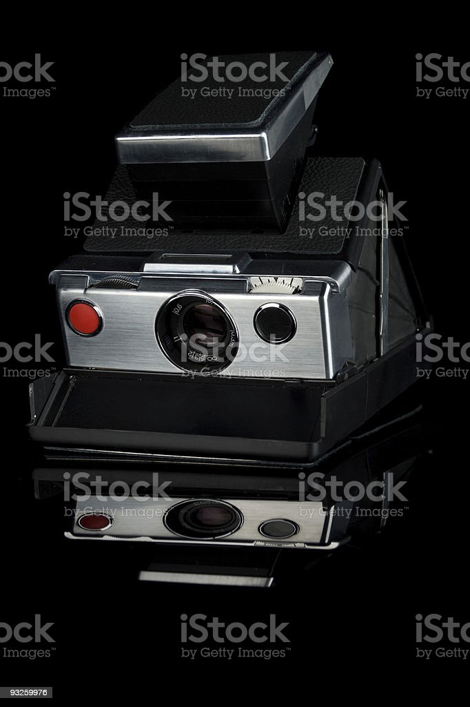 Classic Instant Film Camera royalty-free stock photo