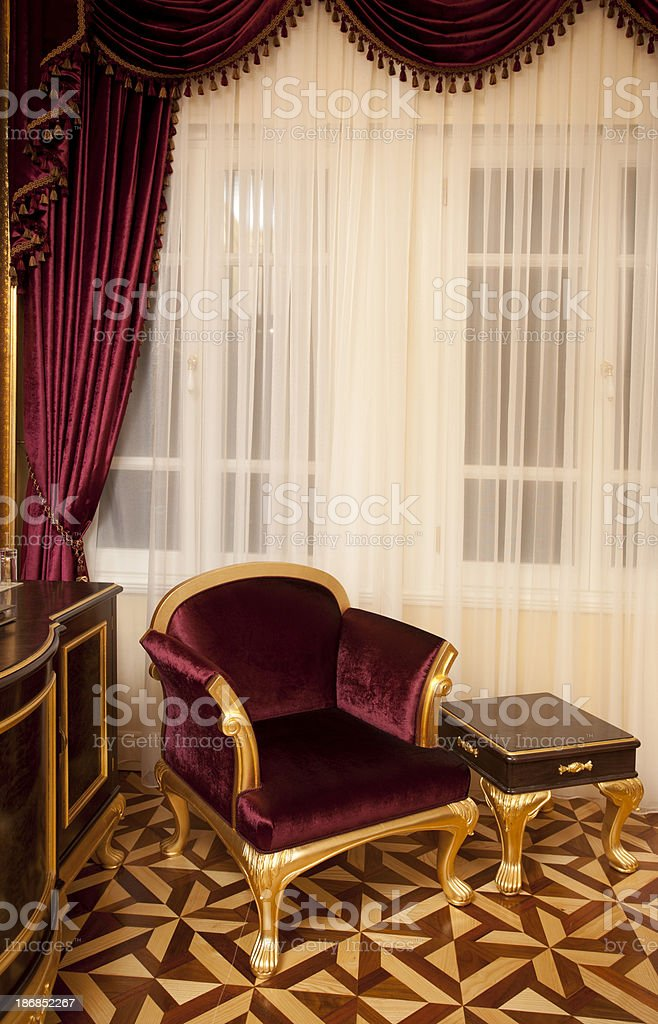 Classic interior decoration royalty-free stock photo