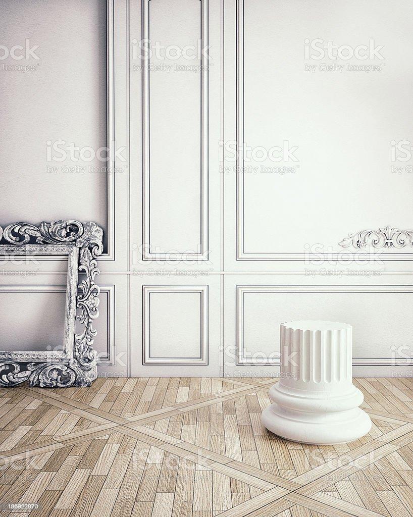 classic interior royalty-free stock photo