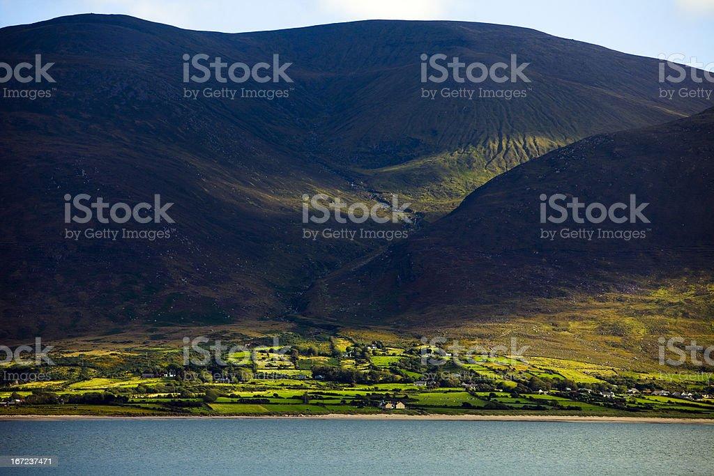 Classic Irish landscape stock photo