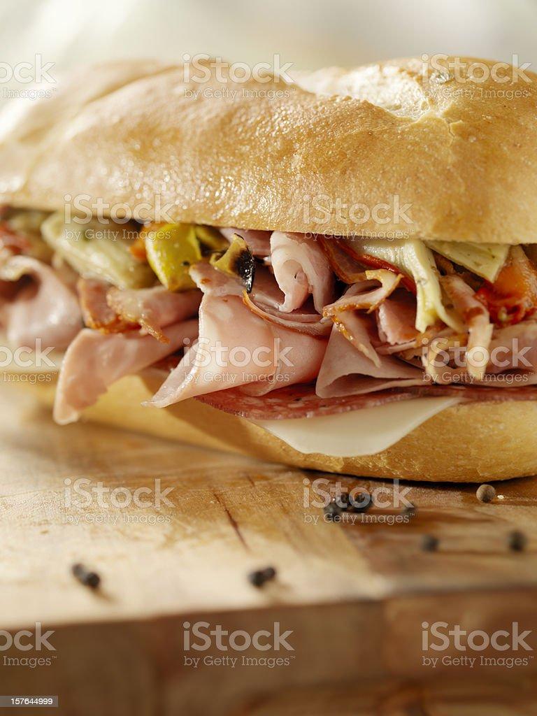 Classic Italian Sandwich royalty-free stock photo