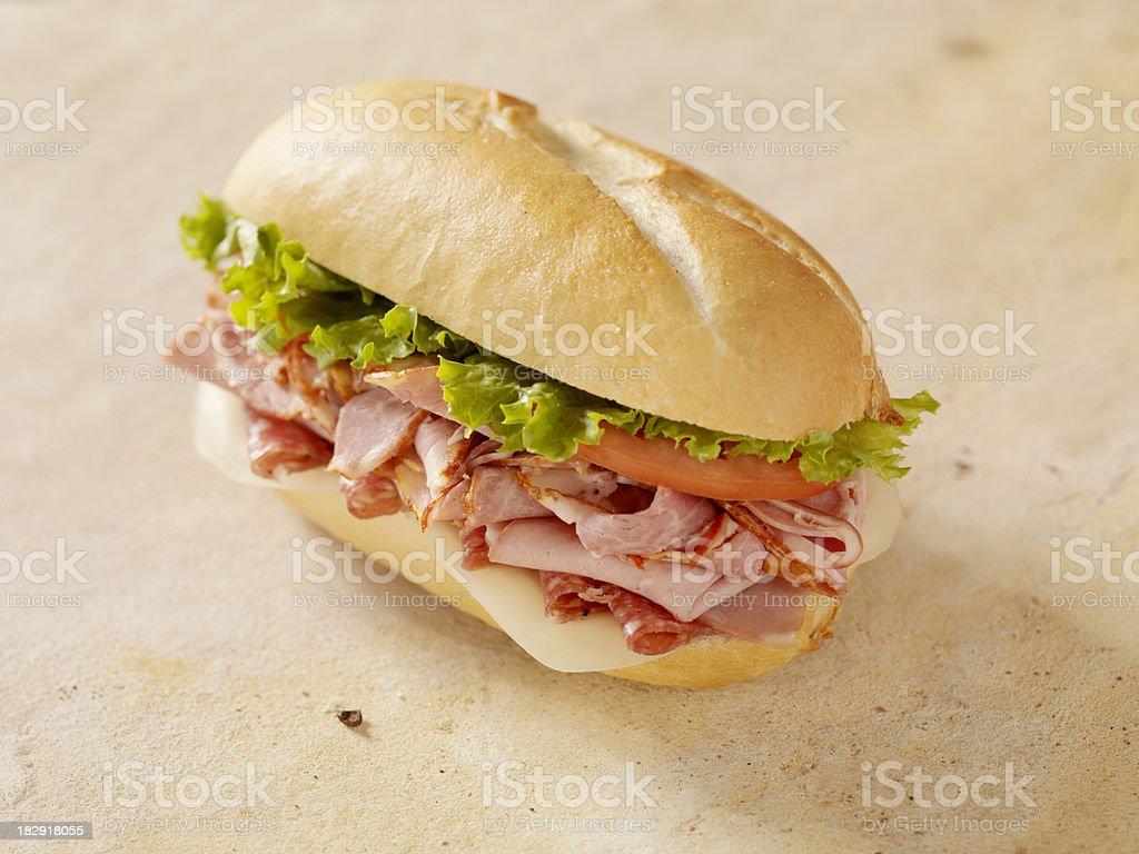 Classic Italian Sandwich stock photo