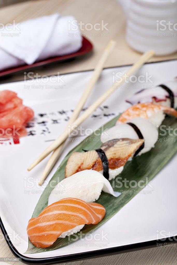 Classic japanese food royalty-free stock photo