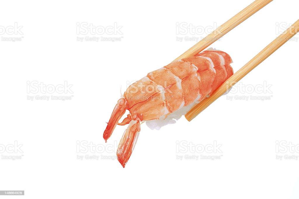 Classic japanese sushi royalty-free stock photo