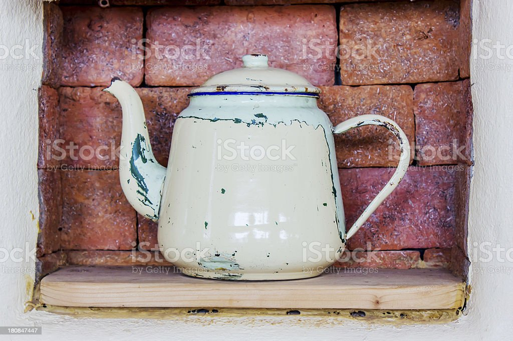 Classic kettle royalty-free stock photo