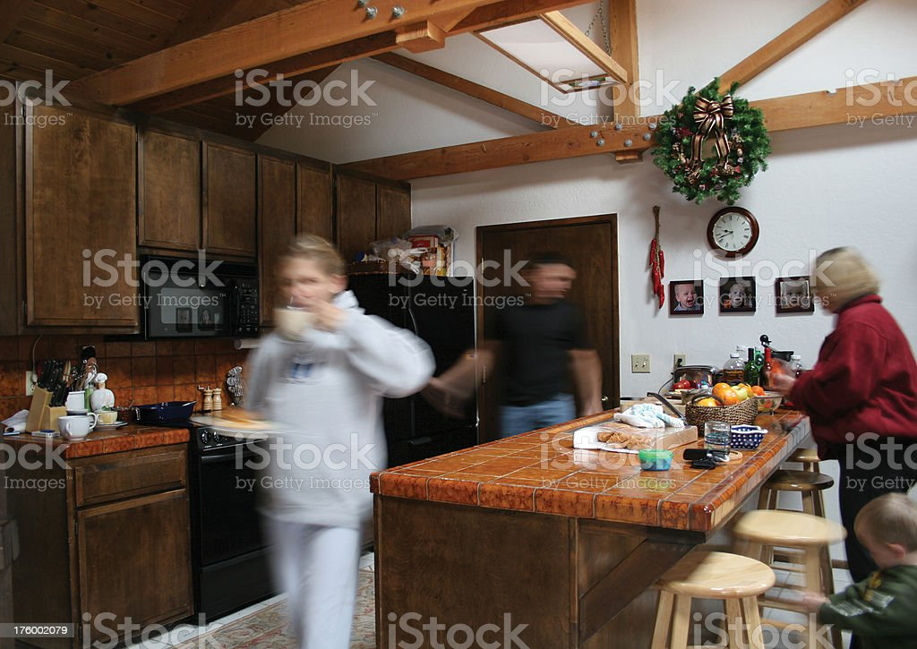 Classic kitchen royalty-free stock photo