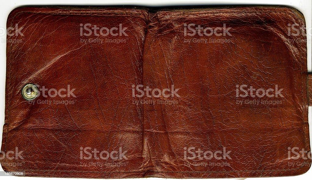 Klassische Brieftasche aus Leder Lizenzfreies stock-foto