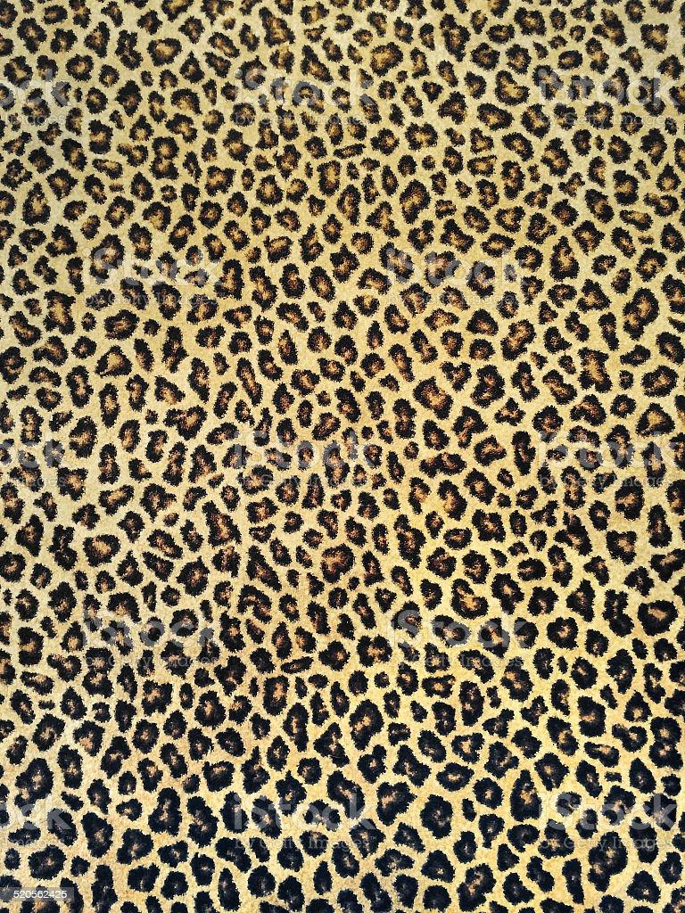 Classic leopard fabric stock photo