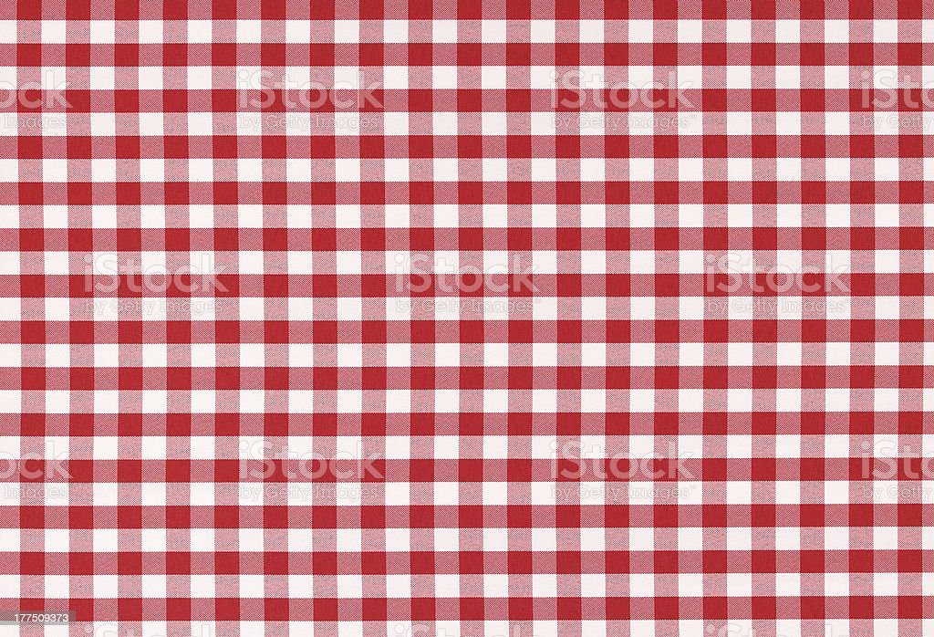 Classic linen tablecloth texture stock photo