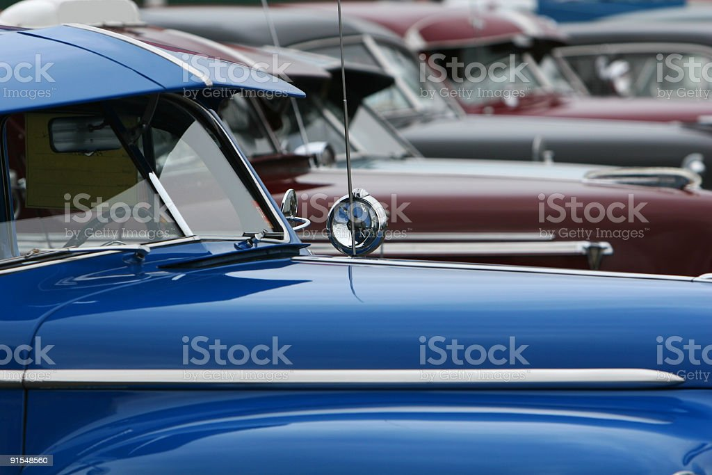 classic lineup royalty-free stock photo