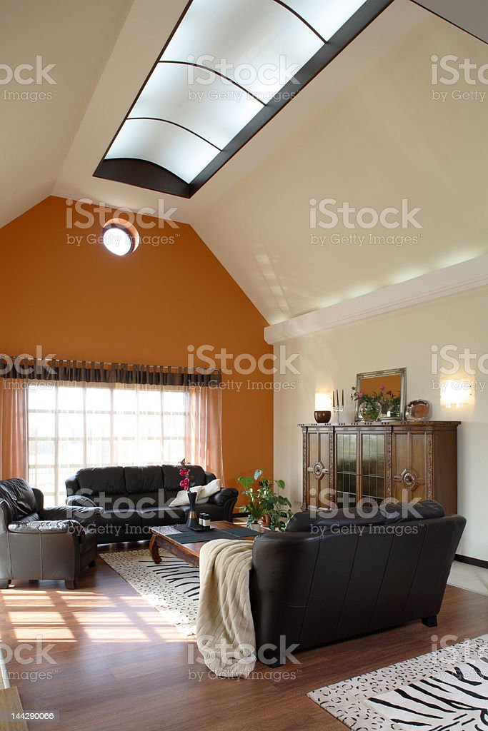 Classic living room royalty-free stock photo