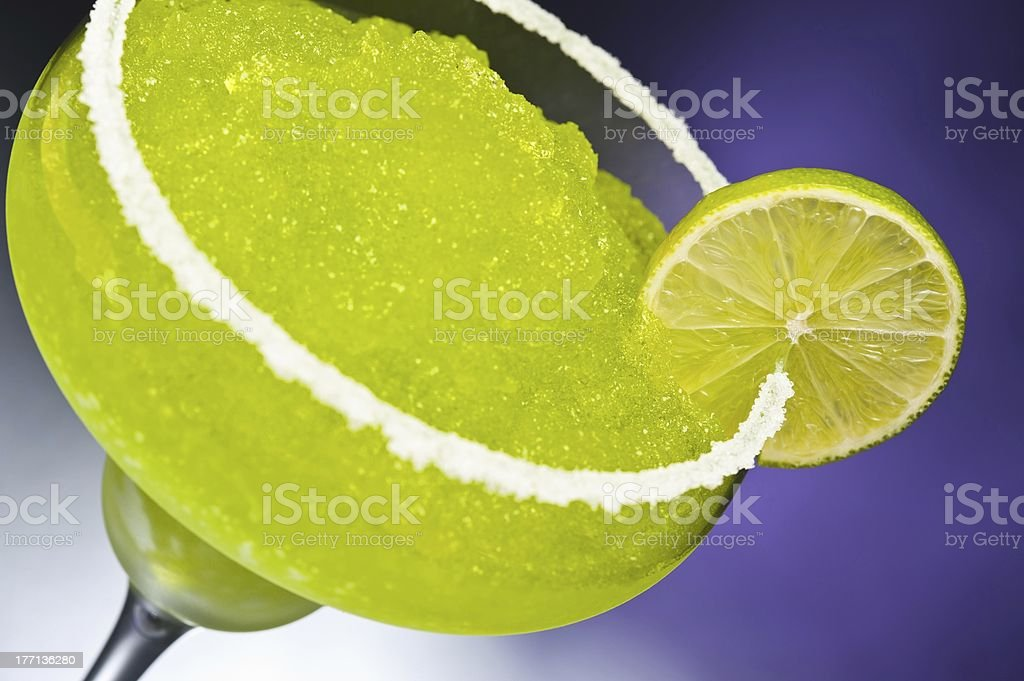 Classic margarita cocktail royalty-free stock photo