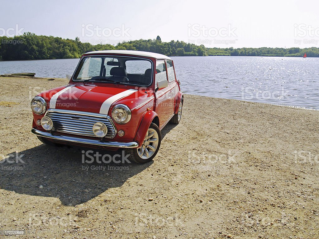 Classic Mini royalty-free stock photo