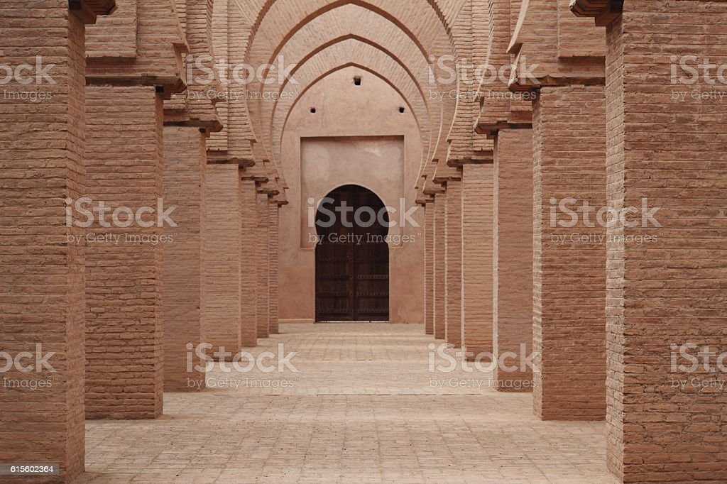 Classic Mosque with Arches stock photo