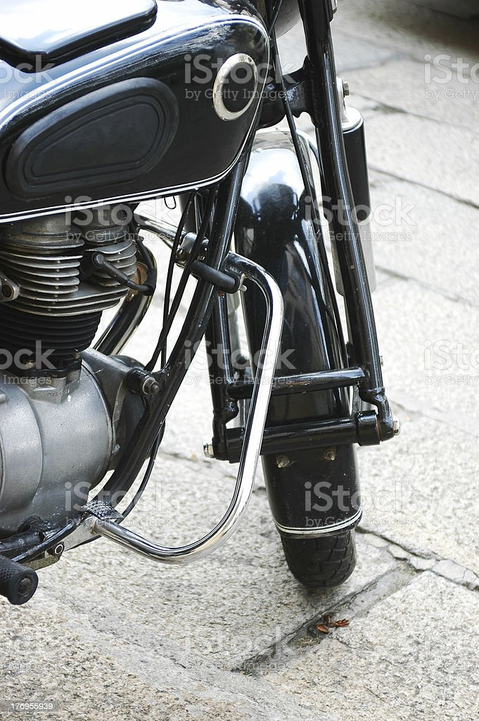classic motorcycle royalty-free stock photo