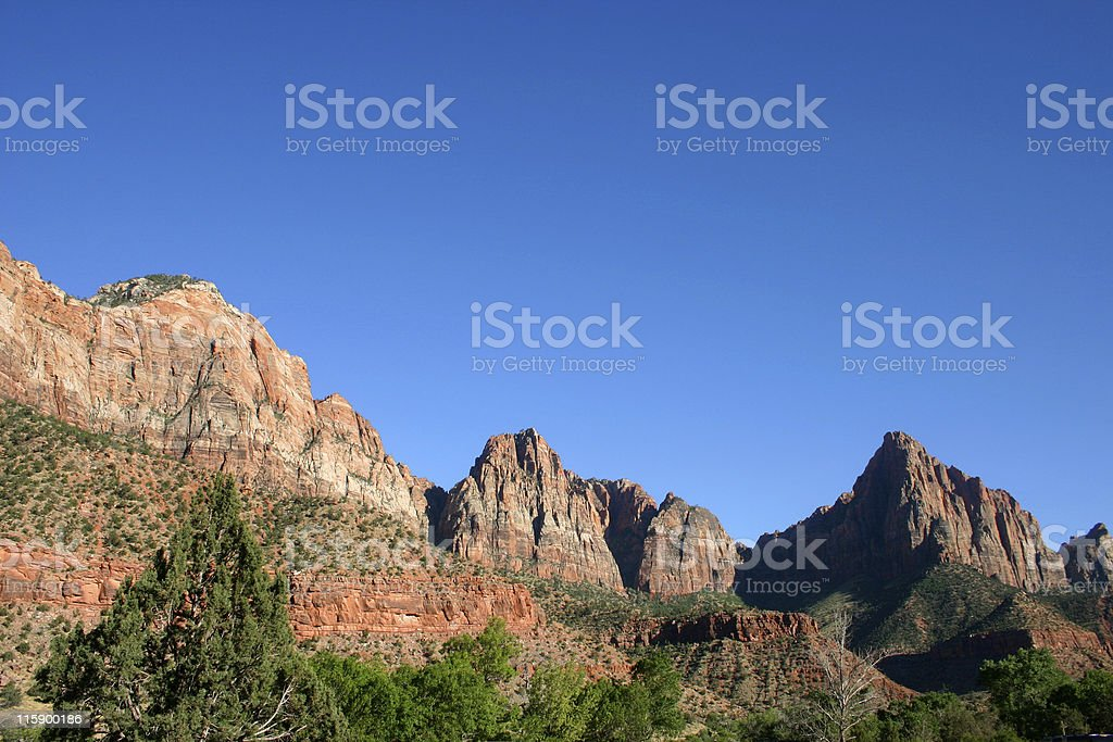 Classic Mountain Scene royalty-free stock photo