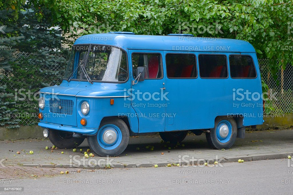 Classic Nysa vehicle stock photo