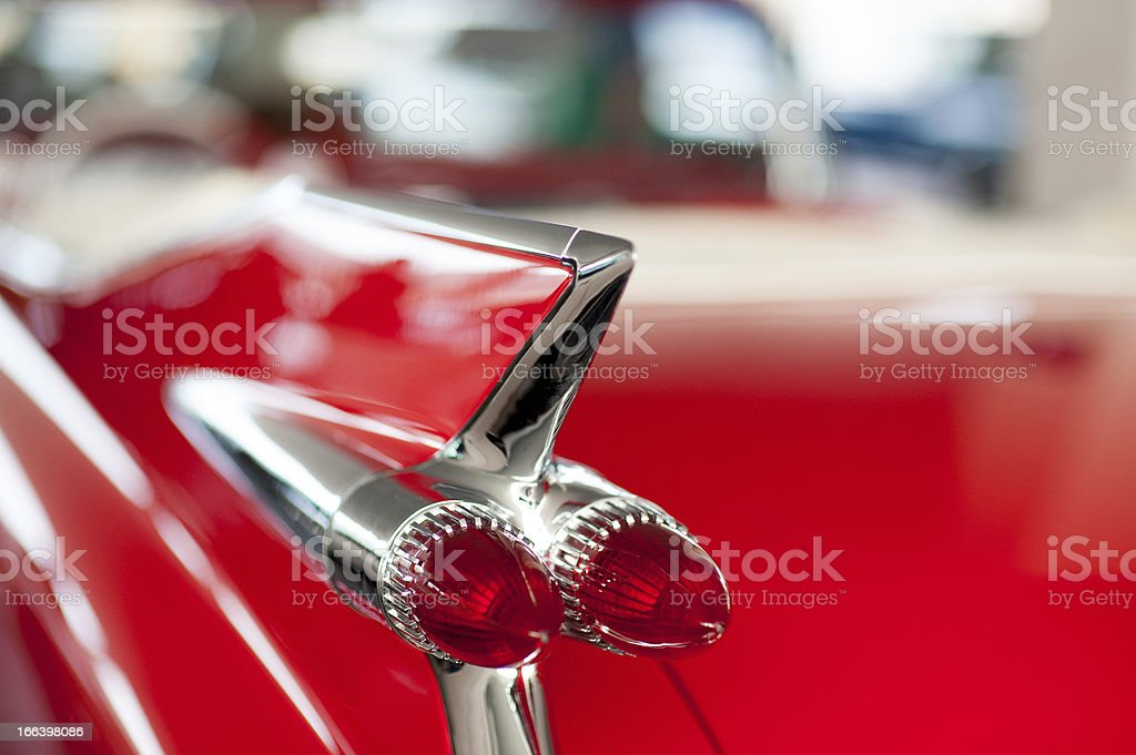 Classic old car stock photo
