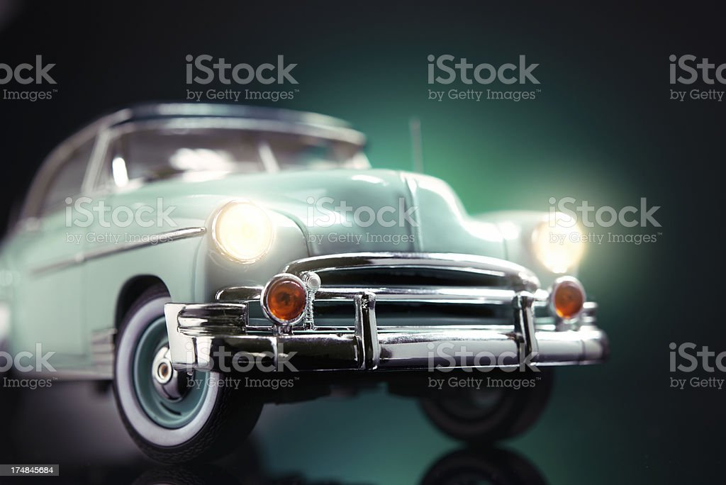 Classic old timer car royalty-free stock photo