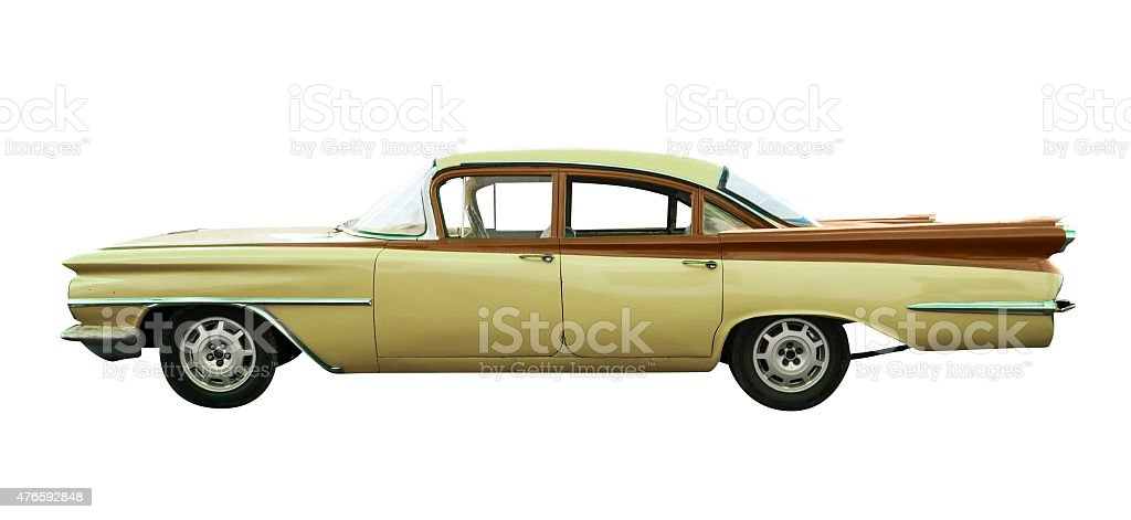 Classic Oldsmobile 98 stock photo