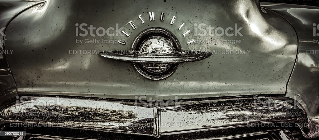Classic Oldsmobile Car stock photo