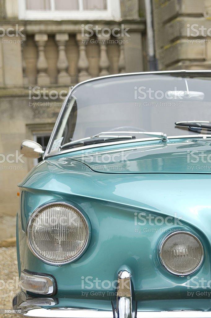 Classic Oldtimer Car royalty-free stock photo