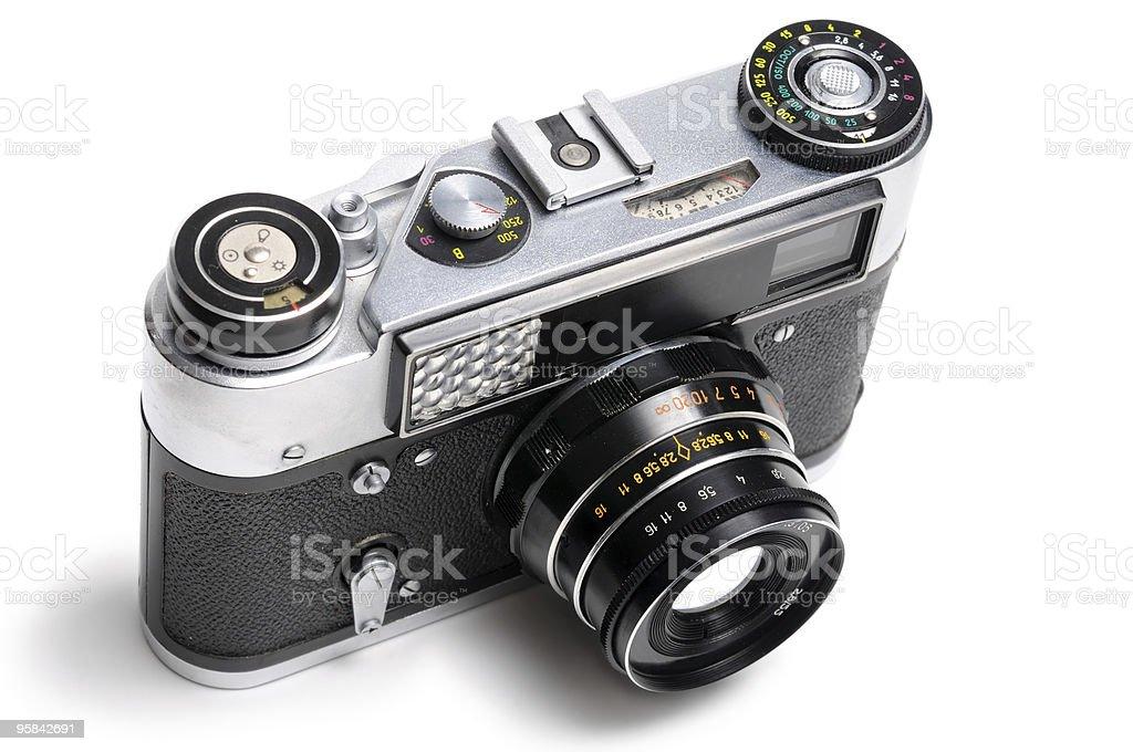Classic Photo Camera royalty-free stock photo