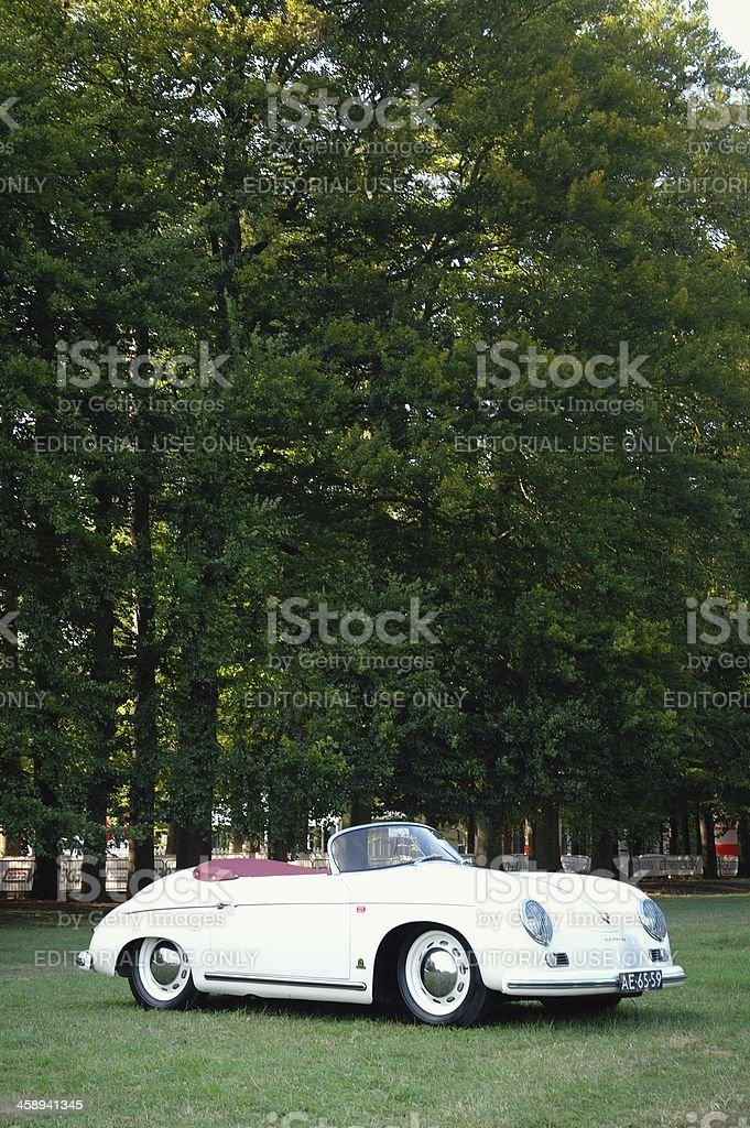 Classic Porsche 356 stock photo