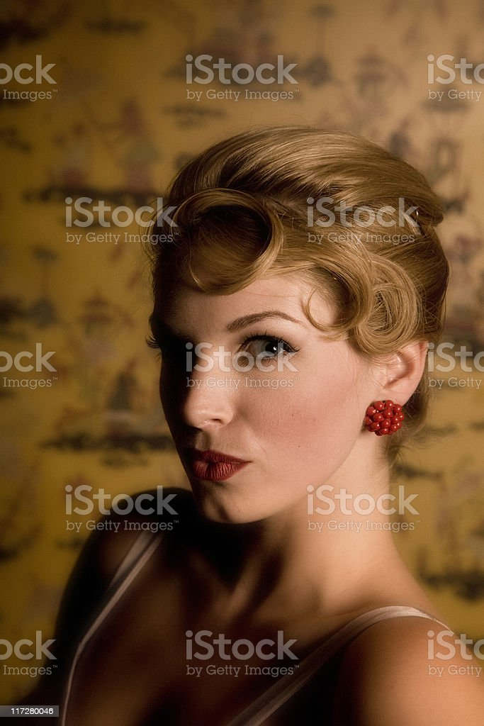 classic portrait royalty-free stock photo