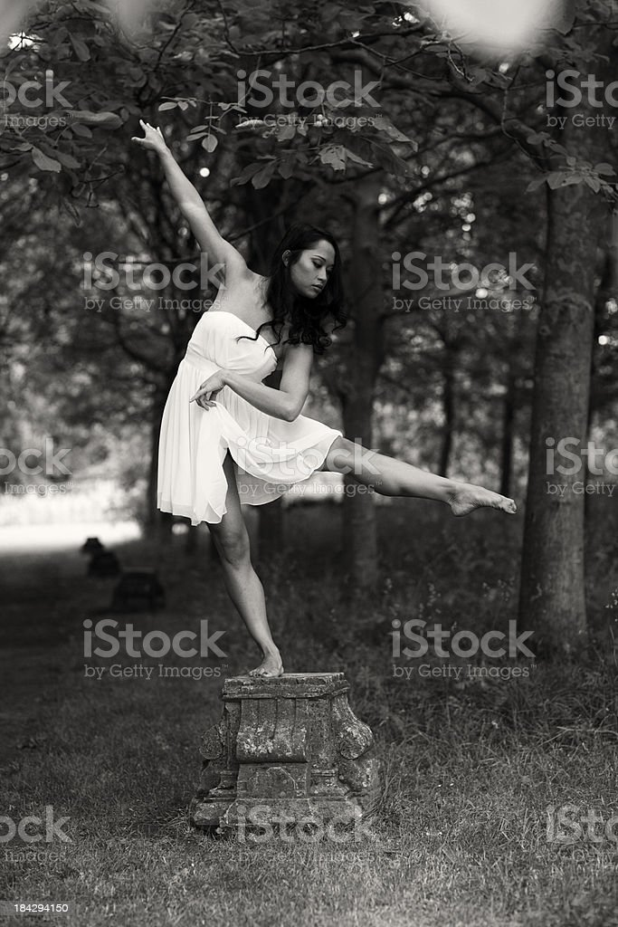 classic pose royalty-free stock photo