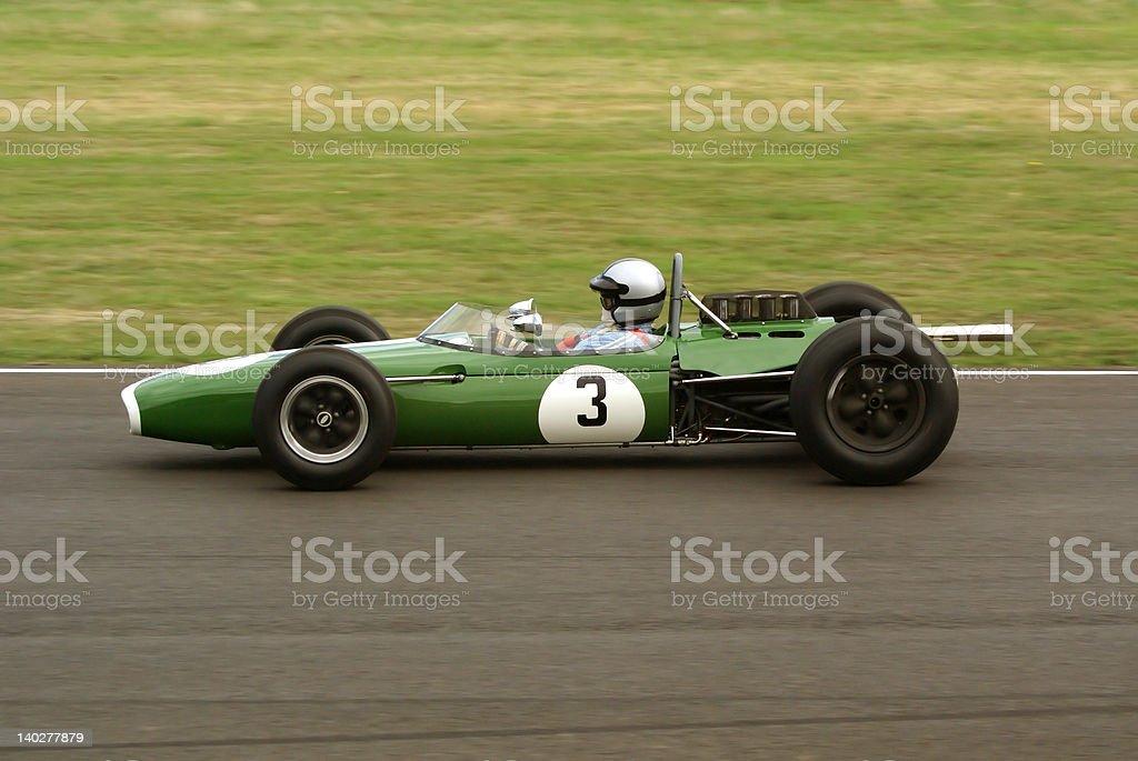 Classic Race Car royalty-free stock photo