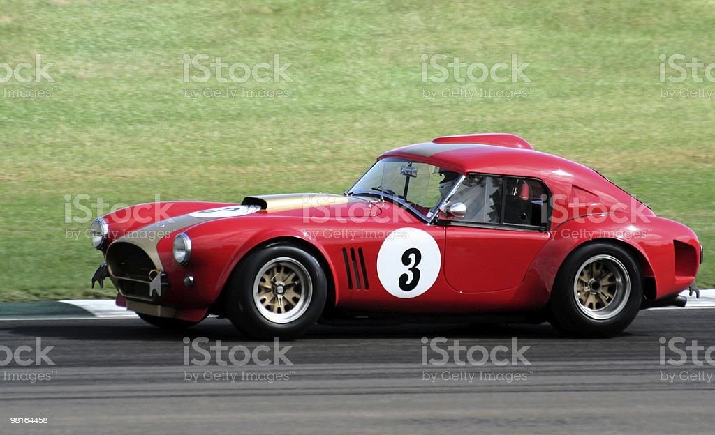 Classic Racing Car stock photo