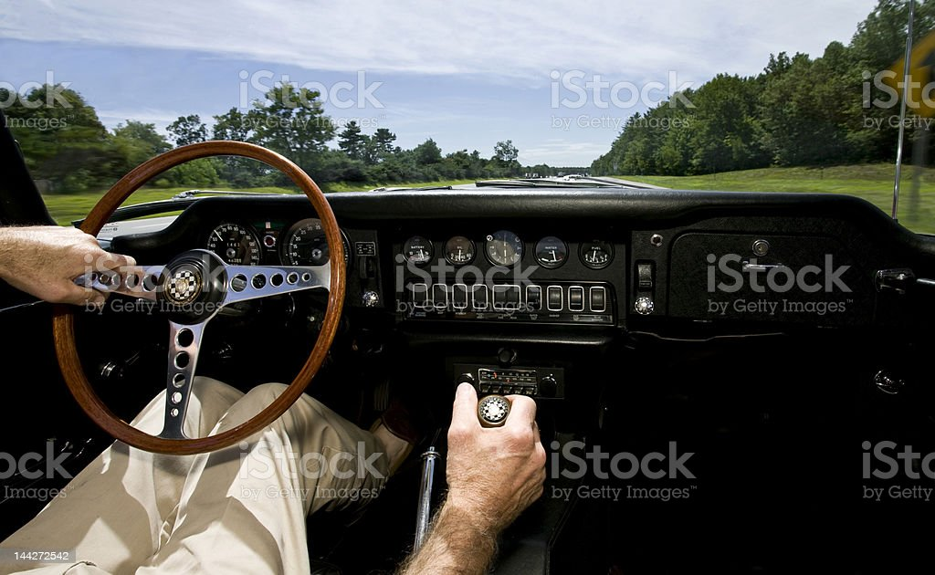 classic ride royalty-free stock photo