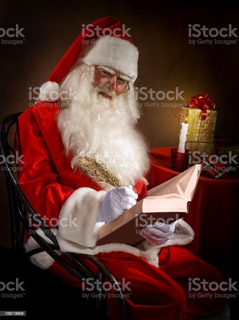 Classic Santa. royalty-free stock photo