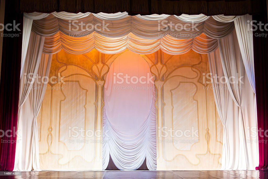 classic scenography stock photo