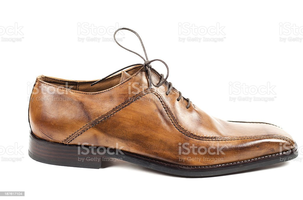 Classic shoes royalty-free stock photo