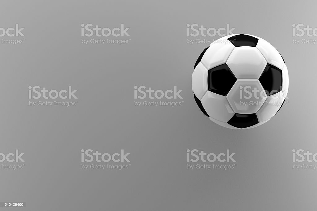 classic soccer ball or football stock photo
