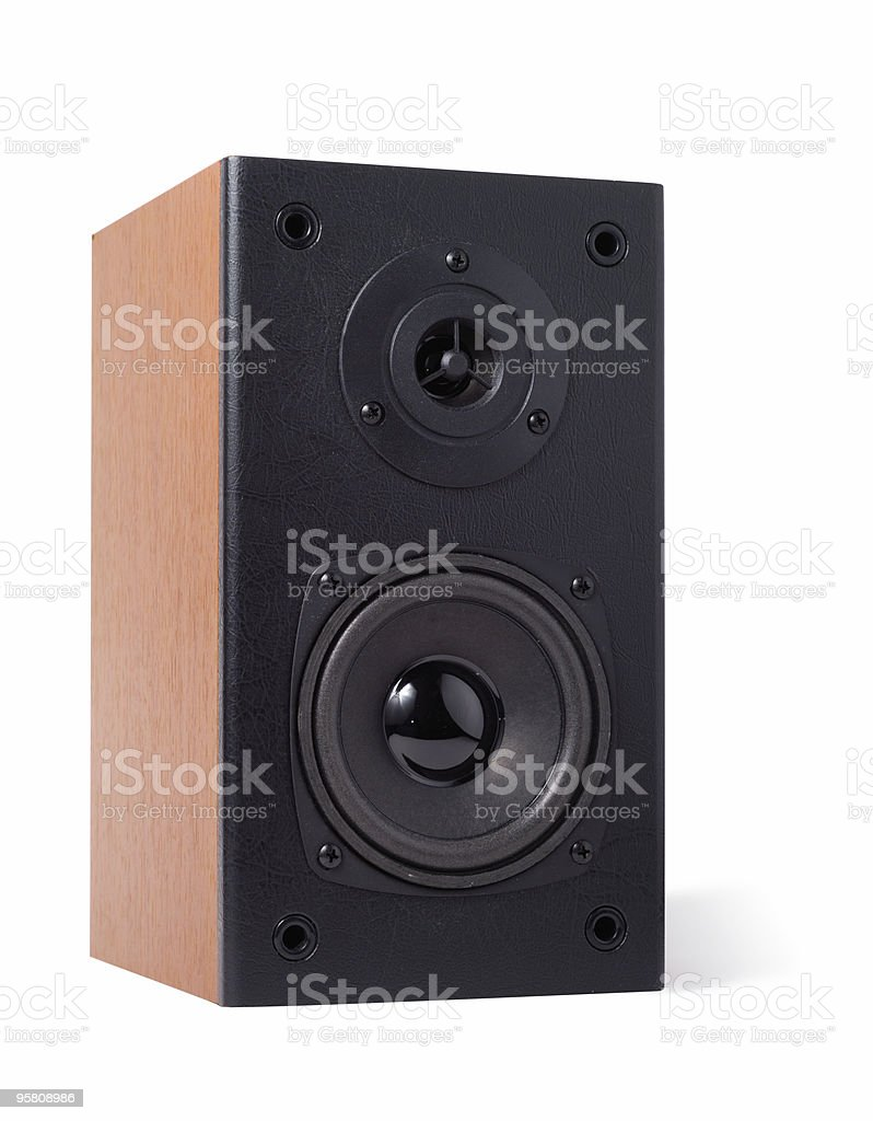 Classic Speaker royalty-free stock photo