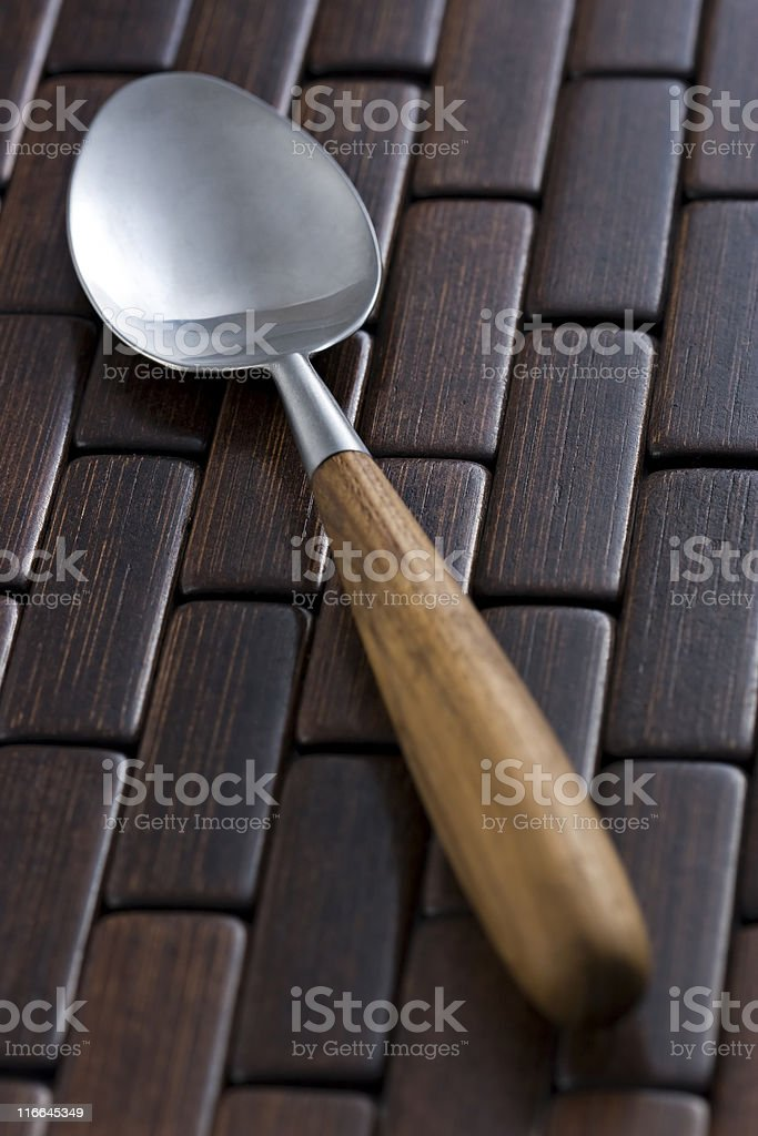 Classic spoon. royalty-free stock photo