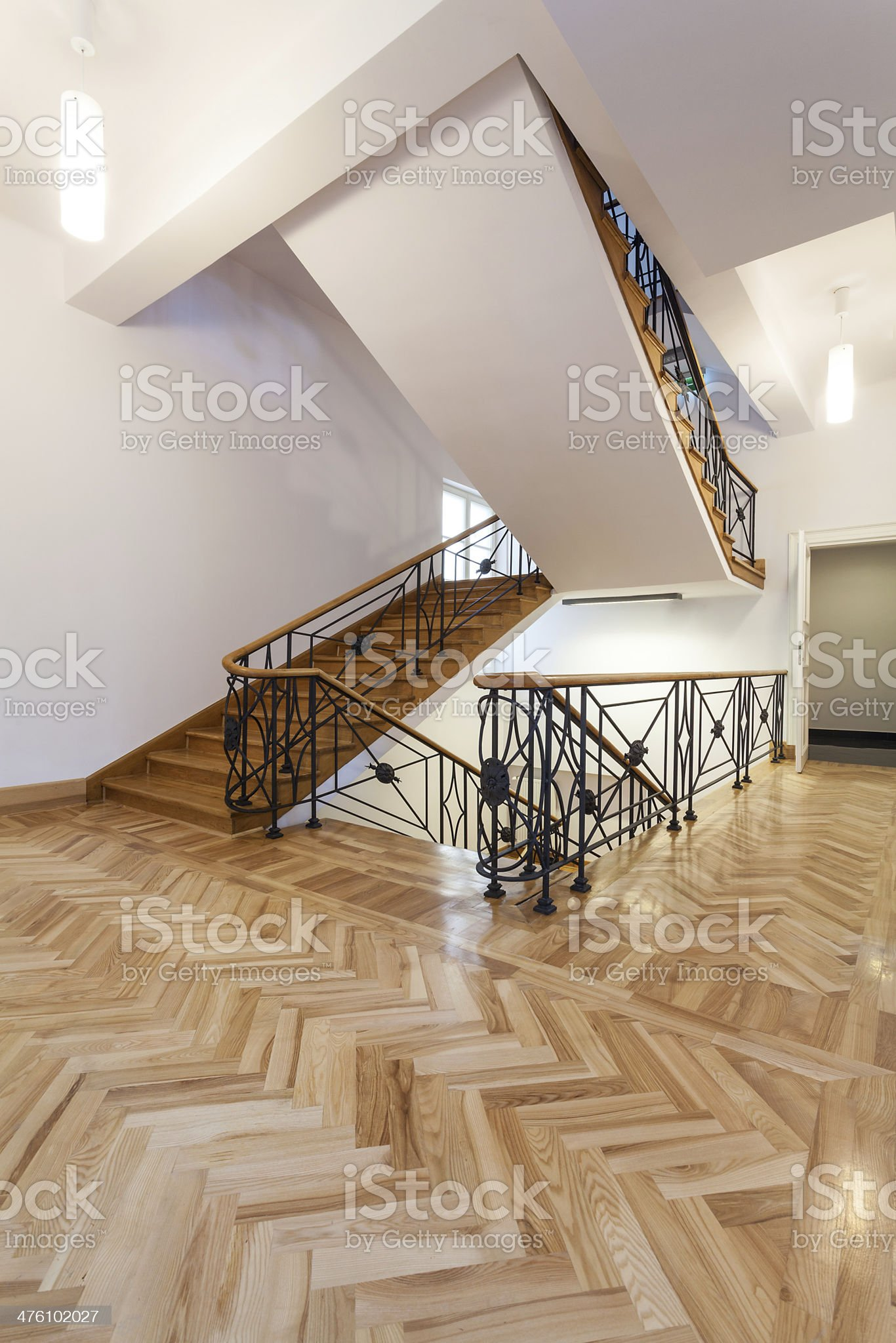 Classic staircase royalty-free stock photo