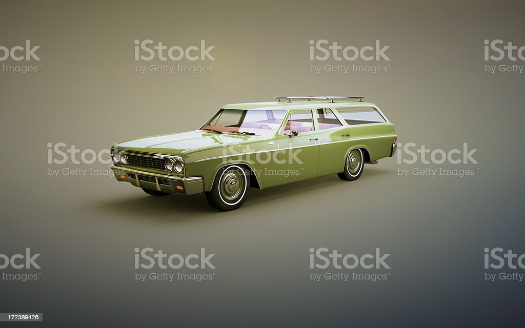 Classic Station Wagon stock photo