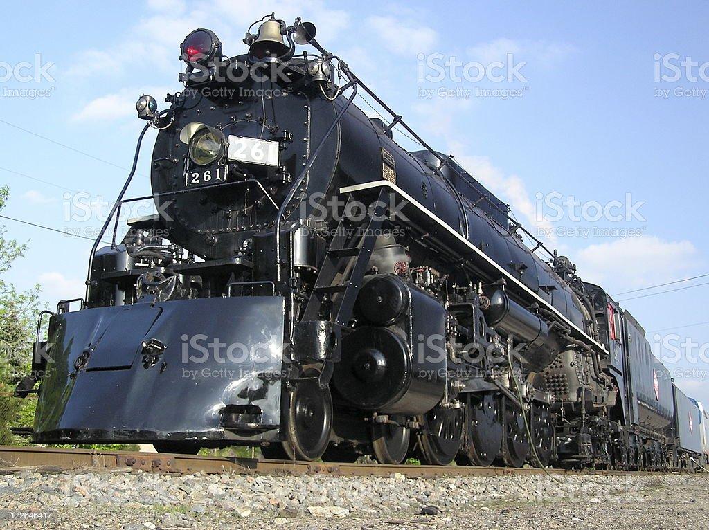 Classic Steam Train stock photo
