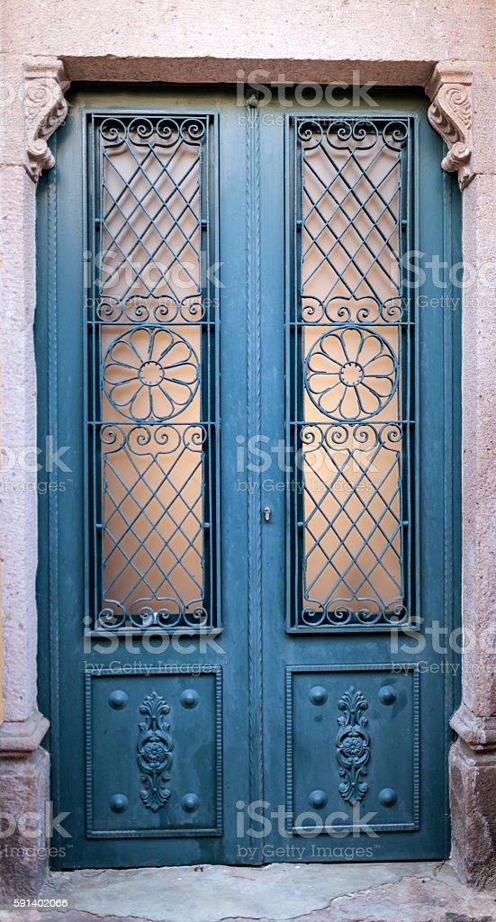 Classic Style Door stock photo