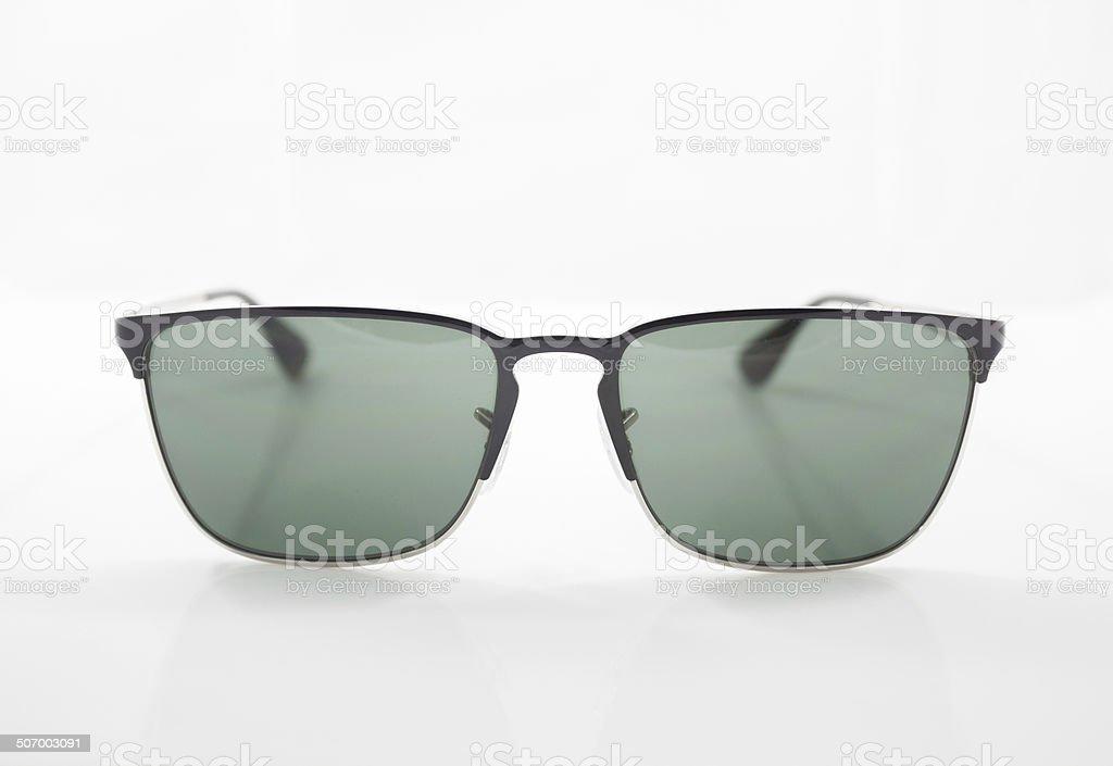 Classic sunglasses isolated on white background royalty-free stock photo