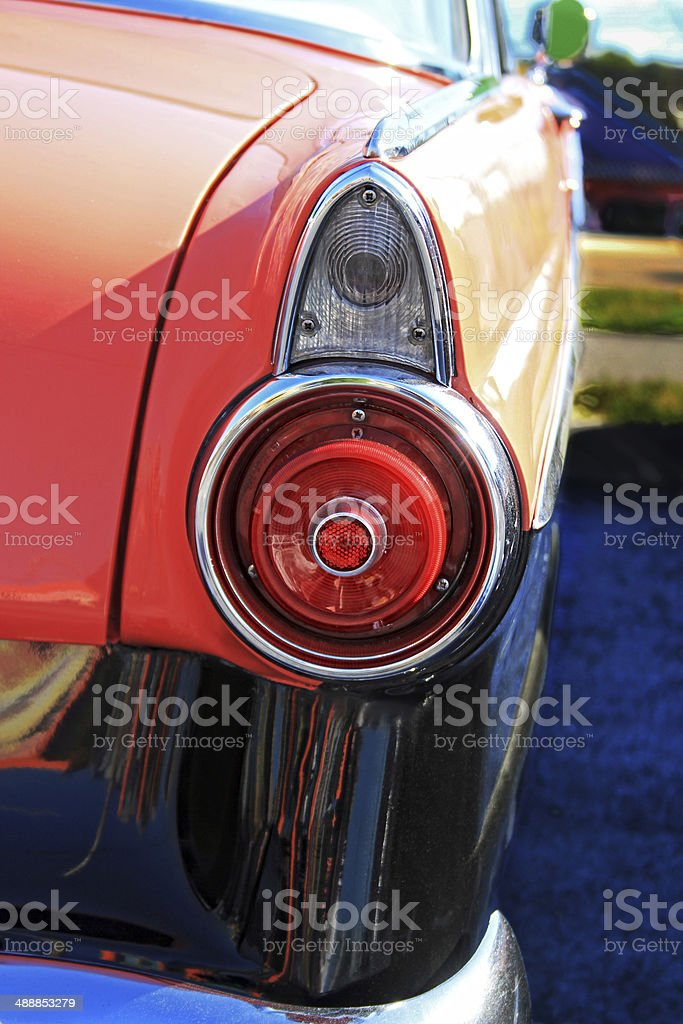 Classic taillight royalty-free stock photo
